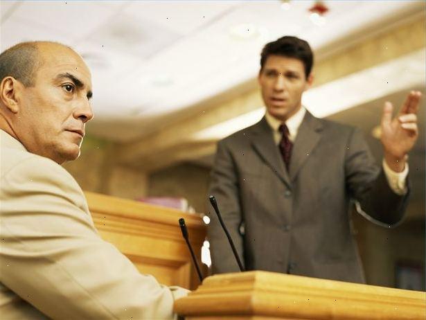 Getuige ondervraging rechtbank